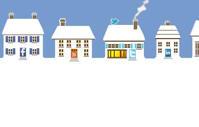 SMIHs (Social Media Icon Houses) Screenshot
