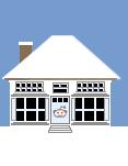 Social Media Icon House: Reddit