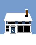 Social Media Icon House: Tumblr