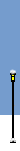 Social Media Icon Street Lamp: with Snow covering