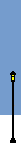 Social Media Icon Street Lamp: without Snow covering
