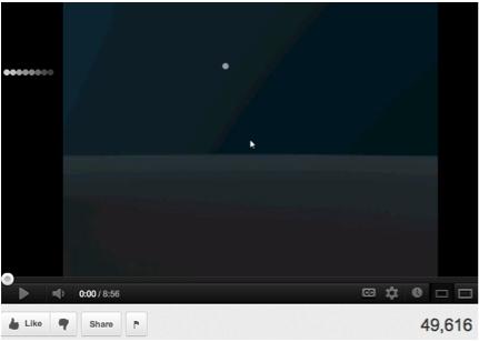 Screenshot_Gray snake darting left as YouTube movie preloads