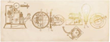 Screenshot of Thomas Edison Interactive Google Doodle