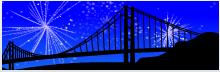Screenshot of Silhouette of Golden Gate Bridge in California