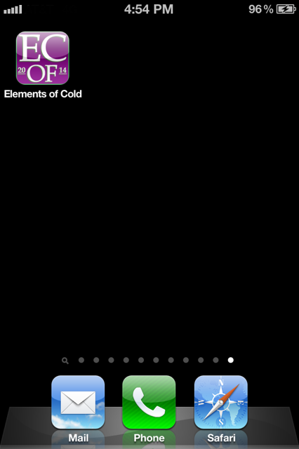 New Elements of Coldfusion.net's homescreen icon for August 2014