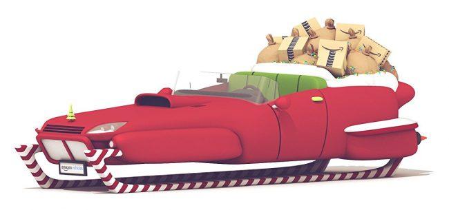 2017 Model Santa's Sleigh
