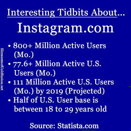Instagram tidbits